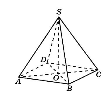 Решение №155 В правильной четырёхугольной пирамиде SABCD точка О — центр основания, S — вершина, SO = 9, SC = 15. Найдите длину отрезка BD.