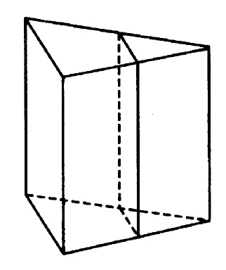 Решение №166 Через среднюю линию основания треугольной призмы проведена плоскость, параллельная боковому ребру.
