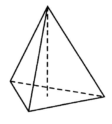 Решение №169 В правильной четырёхугольной пирамиде боковое ребро равно 7,5, а сторона основания равна 10. Найдите высоту пирамиды.