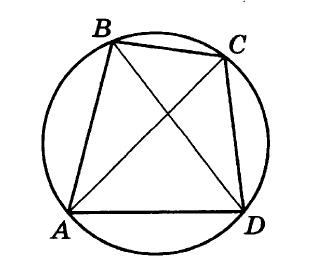 Решение №205 Четырёхугольник ABCD вписан в окружность. Угол ABD равен 19 градусов, угол CAD равен 35 градусам.