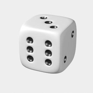 Решение №442 Игральную кость бросают дважды. Найдите вероятность того, что хотя бы раз выпало число, меньше 4.