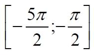 Укажите корни этого уравнения, принадлежащие отрезку [-5pi/2;-pi/2]