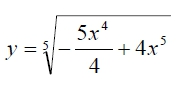 Найдите наименьшее значение функции на интервале (0;½)