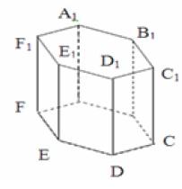 Найдите объем правильной шестиугольной призмы ABCDEFA1B1C1D1 E1F1