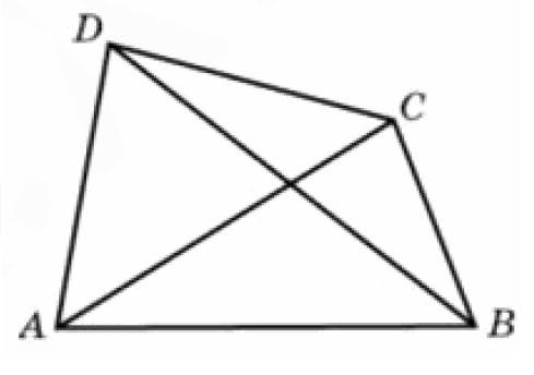 Найдите периметр четырехугольника.