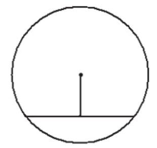 Найдите длину хорды окружности радиусом 13