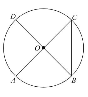 Решение №695 В окружности с центром O отрезки AC и BD — диаметры.