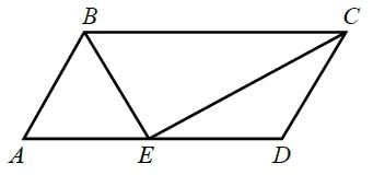Меньшая сторона параллелограмма равна 7. Найдите его большую сторону.