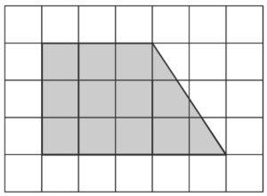 Найдите площадь участка, изображённого на плане.