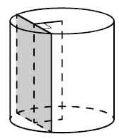 Радиус основания цилиндра равен 13, а его образующая равна 18.