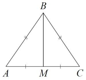 В треугольнике ABC известно, что AB = BC = 13