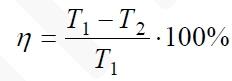Коэффициент полезного действия некоторого двигателя определяется формулой
