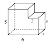 Найдите площадь полной поверхности многогранника