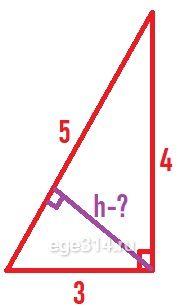 до плоскости содержащей боковую грань пирамиды.
