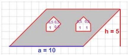 Решение №939 На клетчатой бумаге с клетками размером 1 см х 1 см изображен четырехугольник.
