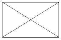 Решение №883 Диагональ прямоугольника образует угол 47° с одной из его сторон.