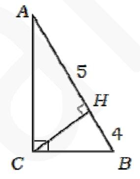 В прямоугольном треугольнике АВС угол С – прямой. СН – высота.
