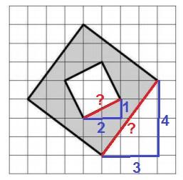 Найдите площадь закрашенной фигуры, изображенной на клетчатой бумаге со стороной клетки 1 см.