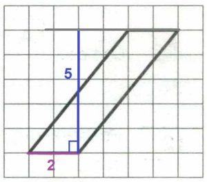 Решение №1286 На клетчатой бумаге с размером клетки 1x1 изображён параллелограмм.