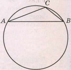 Радиус окружности, описанной около треугольника АВС равен 2√3.