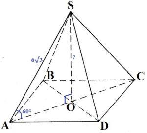 В основании пирамиды лежит параллелограмм.