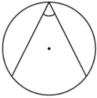 Найдите вписанный угол, опирающийся на дугу, равную 15 окружности. Ответ дайте в градусах.