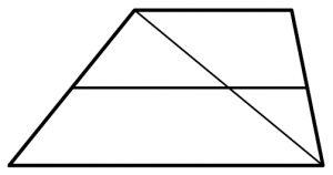 Основания трапеции равны 5 и 9.