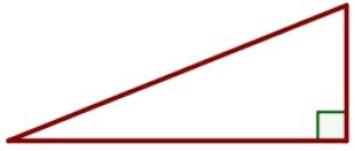 Один из острых углов прямоугольного треугольника равен 63°.