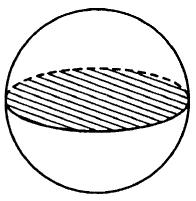 Площадь поверхности шара равна 24.