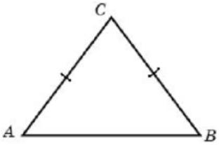 Боковая сторона равнобедренного треугольника равна 5, а основание равно 6.