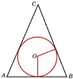 Окружность, вписанная в равнобедренный треугольник, делит в точке касания одну из боковых сторон на два отрезка, длины которых равны 10 и 1, считая от вершины, противолежащей основанию.