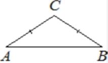 В треугольнике 𝐴𝐵𝐶 угол 𝐴 равен 37°, стороны 𝐴𝐶 и 𝐵𝐶 равны. Найдите угол 𝐶. Ответ дайте в градусах.
