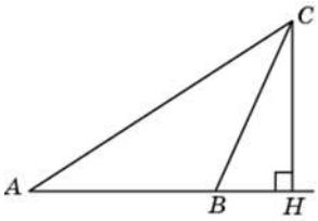 В треугольнике 𝐴𝐵𝐶 угол 𝐴 равен 60°, 𝐶𝐻 — высота, угол 𝐵𝐶𝐻 равен 19°. Найдите угол 𝐴𝐶𝐵. Ответ дайте в градусах.