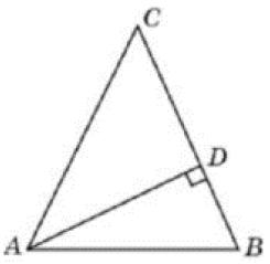 Решение №1954 В треугольнике 𝐴𝐵𝐶 𝐴𝐶=𝐵𝐶, 𝐴𝐷 − высота, угол 𝐵𝐴𝐷 равен 34°.