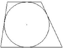Боковые стороны трапеции, описанной около окружности, равны 15 и 22. Найдите среднюю линию трапеции.