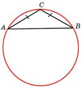 Боковая сторона равнобедренного треугольника равна 7, угол при вершине, противолежащей основанию, равен 120°. Найдите диаметр описанной окружности этого треугольника.