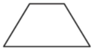 Чему равен больший угол равнобедренной трапеции, если известно, что разность противолежащих углов равна 50° Ответ дайте в градусах.