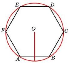 Чему равна сторона правильного шестиугольника, вписанного в окружность, радиус которой равен 39