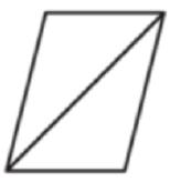 Диагональ параллелограмма образует с двумя его сторонами углы 26° и 34°.