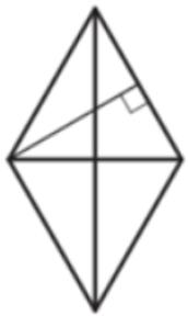 Диагонали ромба относятся как 19. Периметр ромба равен 164. Найдите высоту ромба.