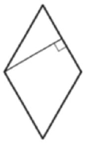 Решение №2011 Найдите высоту ромба, сторона которого равна 11√3, а острый угол равен 60°.