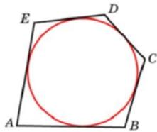 Около окружности, радиус которой равен 1, описан многоугольник, периметр которого равен 8. Найдите его площадь.