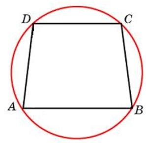 Основания равнобедренной трапеции равны 32 и 24. Радиус описанной окружности равен 20. Центр окружности лежит внутри трапеции. Найдите высоту трапеции.