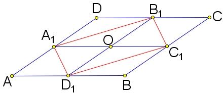 Площадь параллелограмма 𝐴𝐵𝐶𝐷 равна 14.