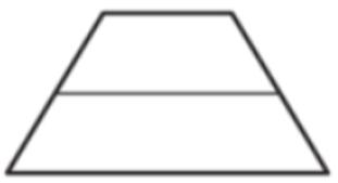 Средняя линия трапеции равна 28, а меньшее основание равно 18. Найдите большее основание трапеции.
