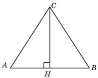 В треугольнике 𝐴𝐵𝐶 𝐴𝐶=𝐵𝐶, 𝐴𝐵=40, высота 𝐶𝐻 равна 20√3. Найдите угол 𝐶. Ответ дайте в градусах.