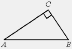 Решение №2053 В треугольнике 𝐴𝐵𝐶 угол 𝐶 равен 90°, sin𝐴=0,8. Найдите sin𝐵.