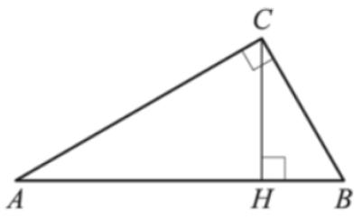 Решение №2057 В треугольнике 𝐴𝐵𝐶 угол 𝐶 равен 90°, 𝐶𝐻− высота, 𝐴𝐵=27, sin𝐴=2/3. Найдите 𝐴𝐻.