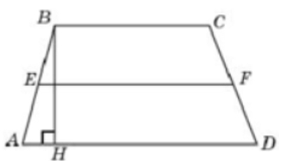Высота трапеции равна 10, площадь равна 150. Найдите среднюю линию трапеции.
