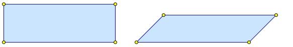 Если стороны одного четырёхугольника соответственно равны сторонам другого четырёхугольника, то такие четырёхугольники равны.